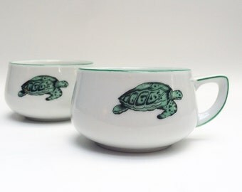 Sweet little turtle tea cups - Thomas Lacroix Germany