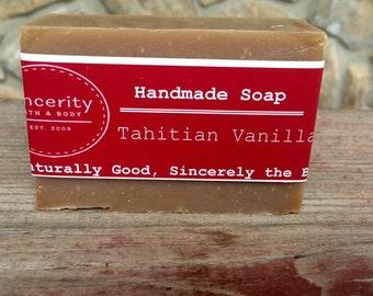 Tahitian Vanilla Handmade Soap