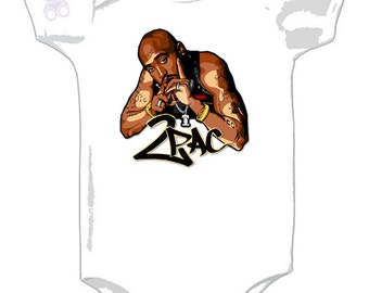 2pac - All Eyez On Me - Graphic Onesie - California Love for Baby - Tupac Shakur