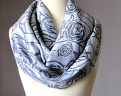 Silver grey scarf, silky soft fall scarf, women's accessories, gift for mom, gift for girlfriend, Gray scarf
