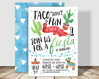 il_340x270.1224611461_i6f9 taco fiesta birthday invitation digital file mexican fiesta,Taco Party Invitations