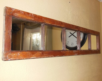 Window Wall Mirror window pane mirror | etsy