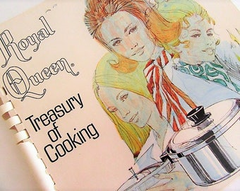 Royal Queen Treasury of Cooking Cookbook