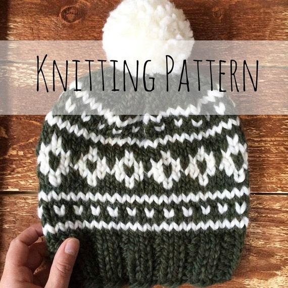 Arctic Circle Toque Knitting Pattern Fair Isle Fair Isle