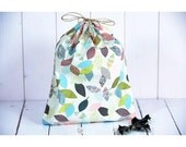 Cotton bag organic eco-friendly gift packaging, zero waste, can be used as bag to bulk, large model pastel sheets.