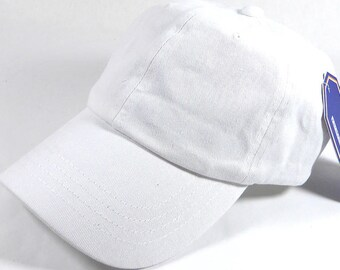 Your Print White Dad Hat Baseball Cap Twill 6 Panel Custom Embroidery Low Profile Pro Style