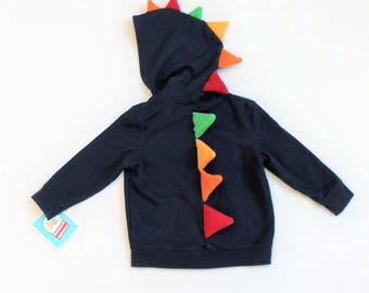 Hooded Dinosaur Sweatshirt
