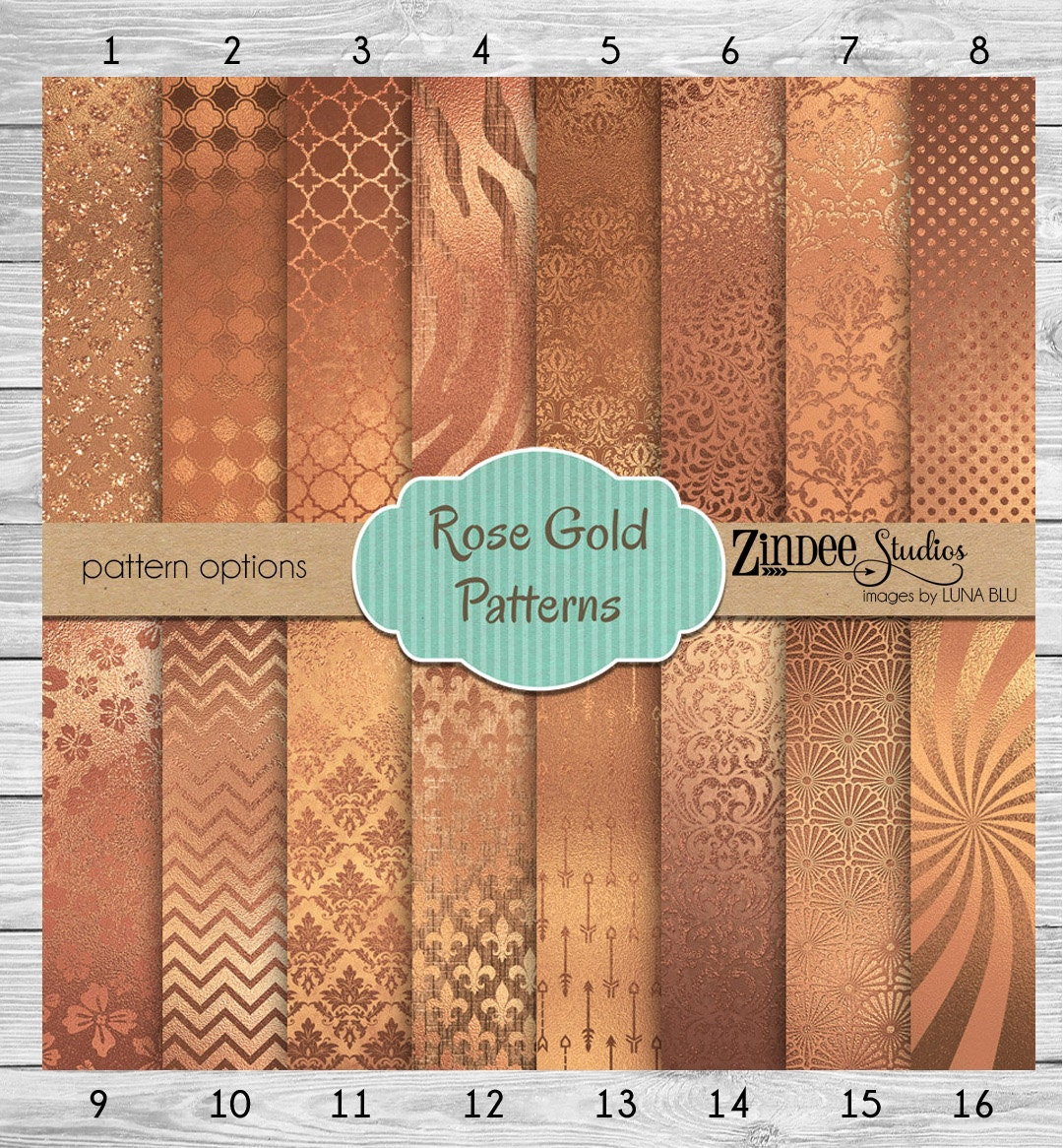 Printed vinyl rose gold patterns adhesive vinyl heat for Rose adesive