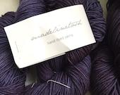 30% Off Madeline Tosh Sport Merino Yarn Superwash Purple Curiosity 270 Yards