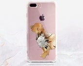 iPhone 8 Case iPhone X Case iPhone 7 Case Golden Retriever Clear GRIP Case iPhone 7 Plus Clear Case iPhone SE Case Samsung S8 Plus Case U221