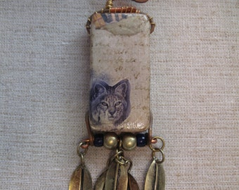 Bob Cat Spirit Pendant