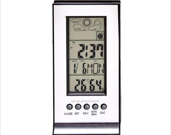 LCD Digital Clock, Temperature, Humidity, Alarm, Calendar Display. The Best Control To Your Resin Casting