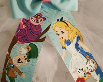 Boutique Alice Handpainted Hairbow