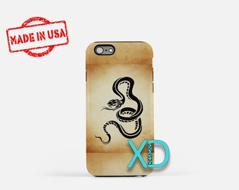 Artistic Snake iPhone Case, Snake iPhone Case, Snake iPhone 8 Case, iPhone 6s Case, iPhone 7 Case, Phone Case, iPhone X Case, SE Case