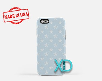 Nautical Phone Case, Nautical iPhone Case, Blue Star iPhone 7 Case, Blue, Blue Star iPhone 6 Case, Nautical Tough Case, Clear Case, Beach