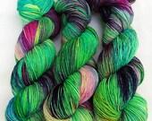 Handdyed SockYarn, 75 Wool, 25 Nylon 100g 3.5 oz. Nr. 766