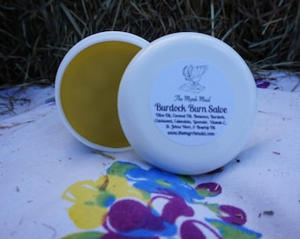 SALE!!!!!  2oz Burdock Burn Balm