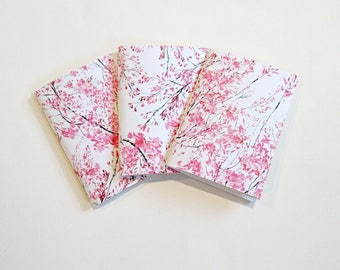 Little Pink Blossom A6 Paperback Notebooks