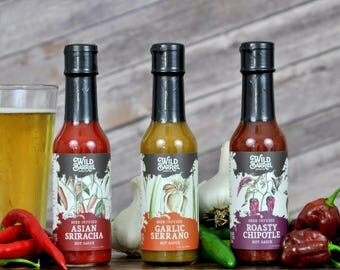 Beer-infused Hot Sauce (3-Pack)