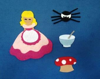 Little Miss Muffet Felt Board Set