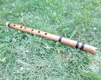 Quenacho Flute From Peru - Item in USA -Tuned C (DO ) Case Included