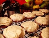 Soft Pumpkin Cookies w/ Browned Butter Icing