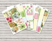 Beach Babe Vertical Weekly Kit - ECLP Stickers