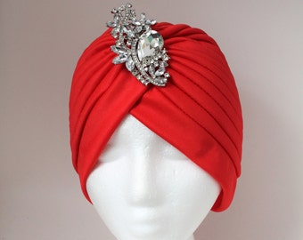 Turban, Turban For Woman, Evening Hat, Night Out Turban, Night Out Hat, Fancy Turban, Front Knot Turban, Front Twist Turban, Front Twist Hat
