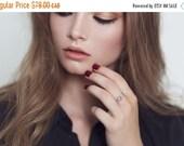 Black Friday Sale -25% - Silver hoop ring