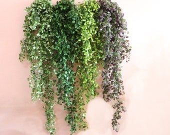 Artificial Leaf Garland Green Ivy Garland 110cm For Home Wall Decor Shower Box Decoration Fake Hanging Plants For Wedding Party Centerpieces