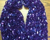 Metallic Purple Scarf-Special Order for Josie