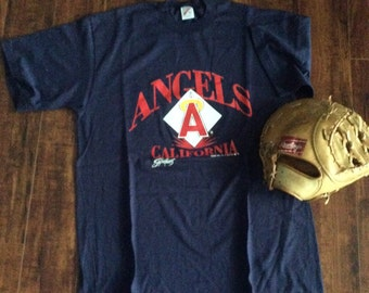 California Angels tee shirt - MLB Angels - Angels tee XL
