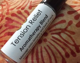 Tension Relief - Essential Oils - Roll On