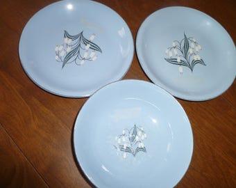Three Piece Homer Laughlin Dishes