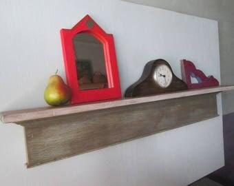 Shabby Shelf/Recycled Shelf/Salvaged Wood Shelf/Vintage Wood Shelf/Handmade Shelf/Reclaimed Wood/ Wall Shelf/Shabby Wood Shelf/Vintage Shelf