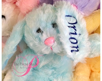 Plush Personalized Easter Bunny