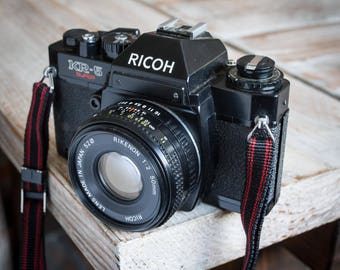 Working Vintage Ricoh KR-5 Super 35mm SLR Film Camera with Lens