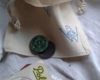 Beautiful Button Bags