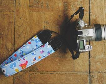 Alice in Wonderland Digital SLR Camera Strap Handmade
