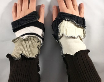Black and White Arm Warming Devices