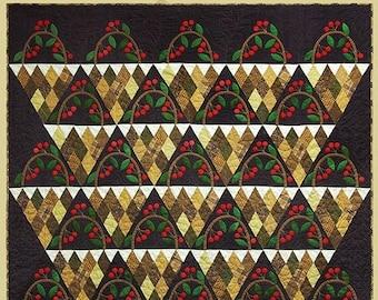Quilt Pattern - Cherry Baskets Quilt Pattern
