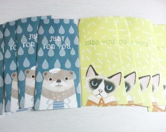Lovely Animal Envelope - 10 Envelopes