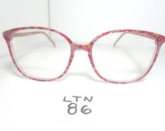 ARISTAR Round Oversize Eyeglass Frame AR6250-985 Purple (LTN-86)