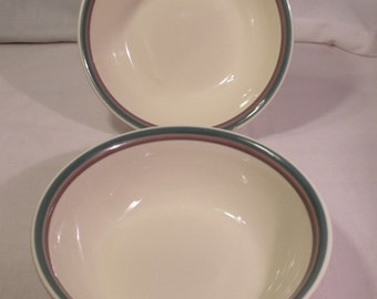 "Pfaltzgraff Juniper 8 1/2"" Serving Bowl PAIR"