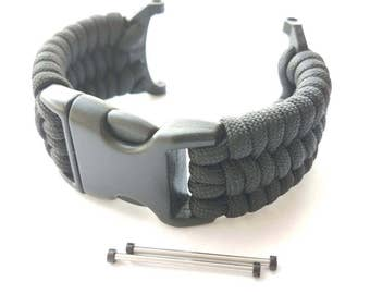 JaysAndKays Paracord Adapters and Strap Kit for Suunto Core