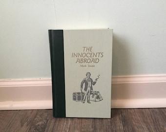 """Mark Twain """"The Innocents Abroad"""" hardback novel"""
