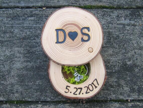 Ring box | Engagement Ring Box | Ring Bearer Box | Wedding Ring Box | Rustic Ring Box | Wood Ring Box
