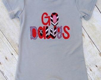 Go Dawgs Romper or T-shirt