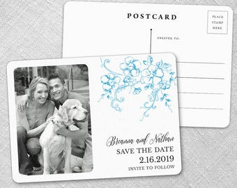 Abbey Road - Postcard - Save-the-Date