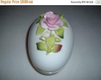Vintage  Easter egg - china egg - vintage china - Coal Port china - vintage porcelain egg - English china egg-vintage Coal Port